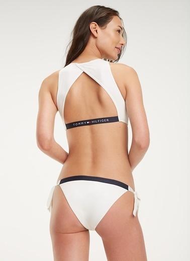 Tommy Hilfiger Bikini Alt Beyaz